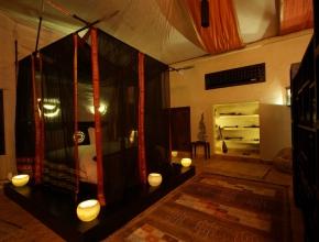 Lodge art déco offre un style romantique