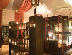 Chambre glamour et moderne - Lodge Art Déco