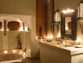Salle de bain lodge art déco - LodgeK