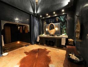 Superbe salle de bain lodge balinais