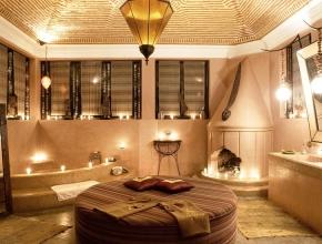 Salle de bain privative prestigieuse du lodge maître