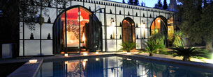 Lodge Balinais in luxury hotel Marrakech
