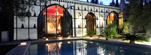 Lodge Balinais in luxury hotel Marrakech