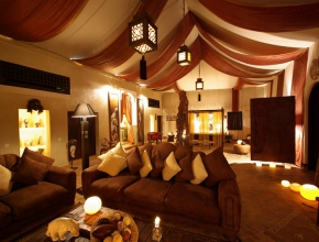 Lodge africain - Hotel luxe palmeraie à Marrakech