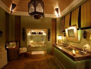 Salle de bain privée de Lodge africain - LodgeK
