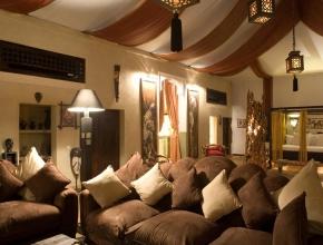 Salon du lodge africain est un véritable séjour