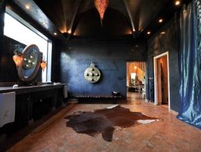 Prestigieuse salle de bain lodge balinais