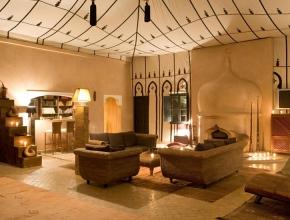 Magnifique salon du lodge maître - Hotel Lodge K