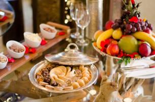 Plats hotel luxe LodgeK à Marrakech