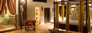 Somptueux lodge africain au sein de l'hotel Marrakech LodgeK